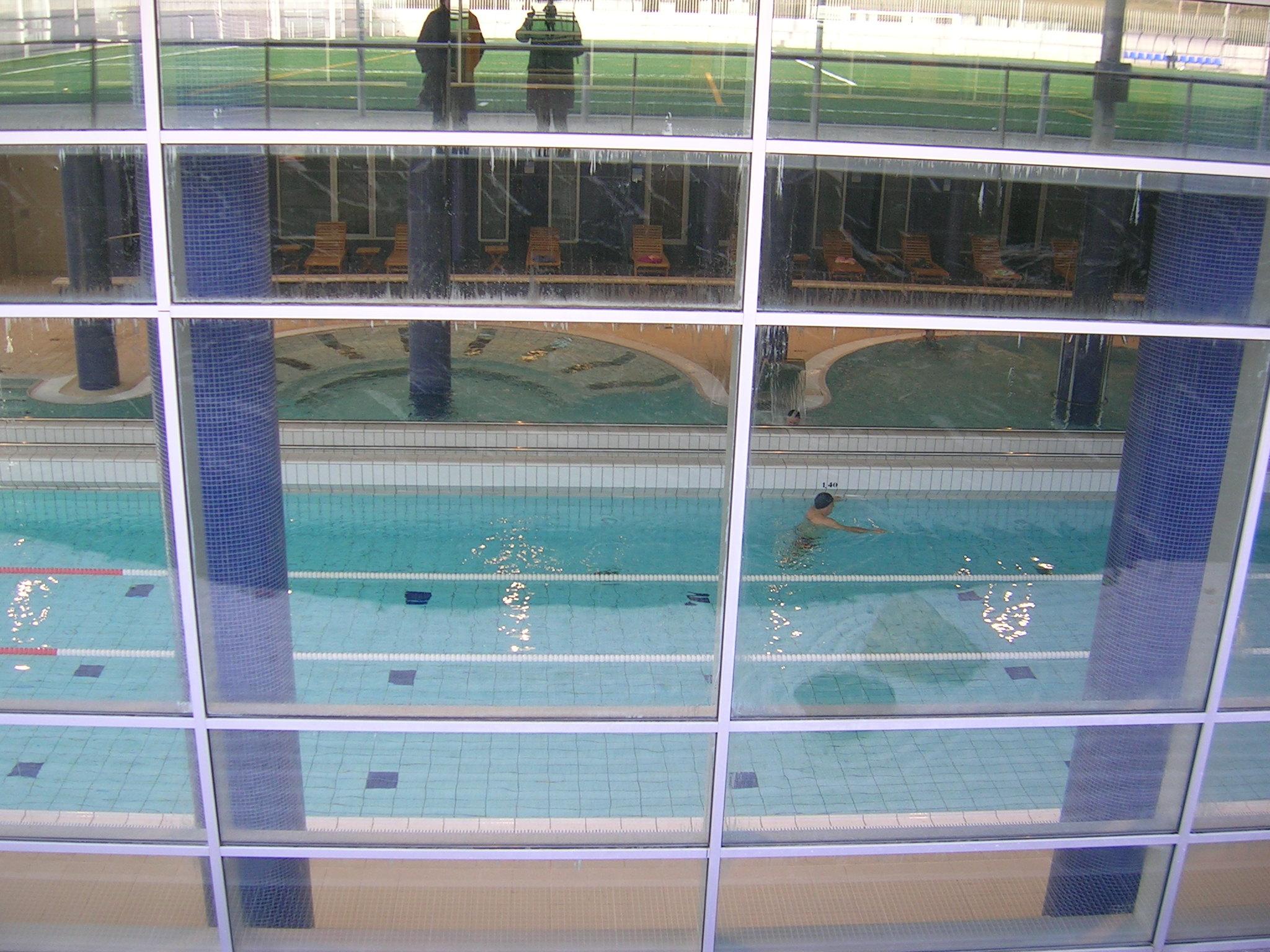 Polideportivo y piscina ansoain ge asociados for Piscina polideportivo