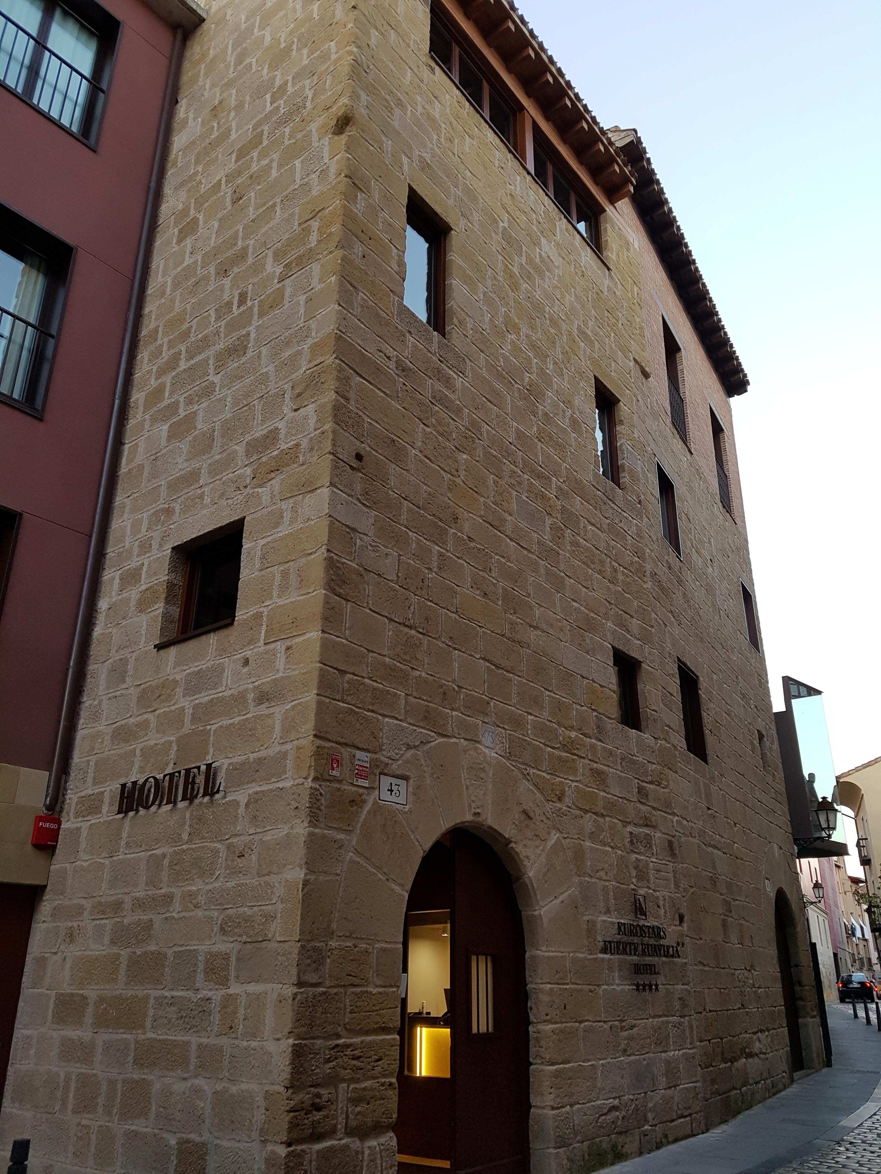 Hotel fuerte ruavieja de 4 estrellas en logro o ge - Hotel las gaunas en logrono ...